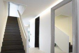 House with attic interior