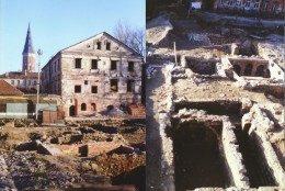 Housing block in Kaunas old town