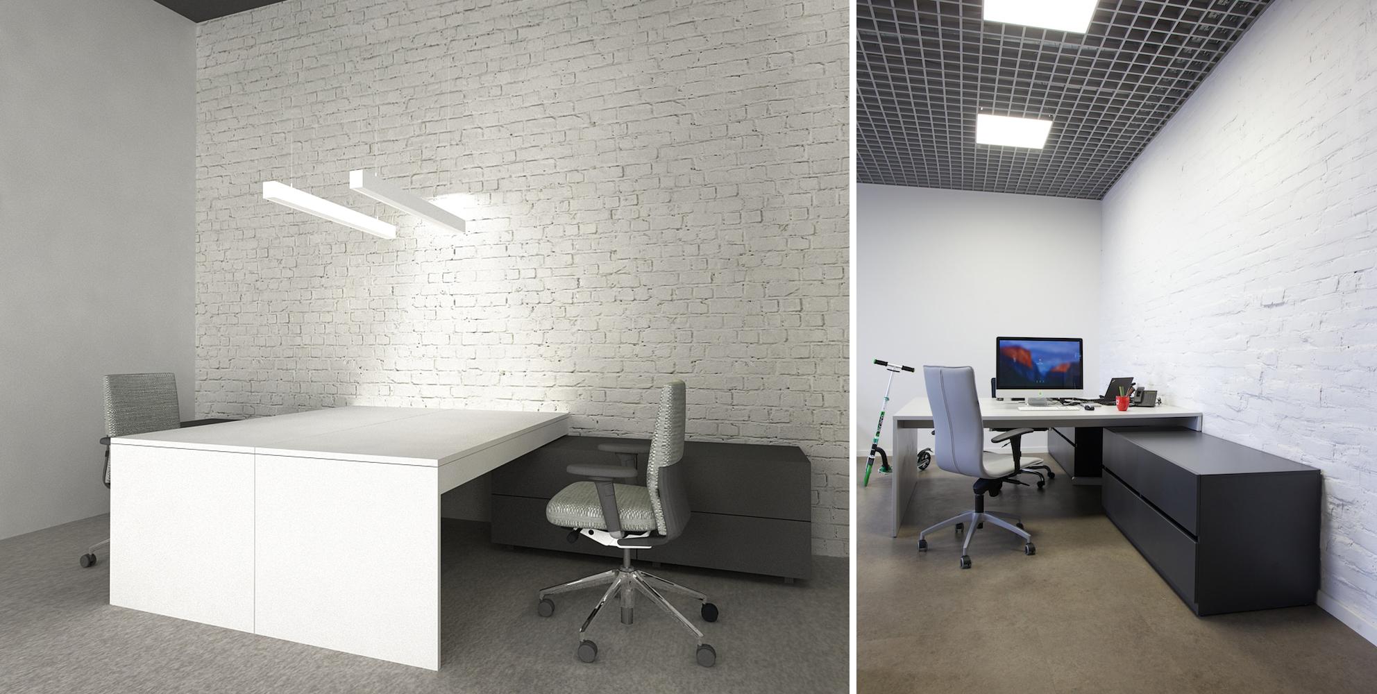 Projektuojamo biuro kabinetas