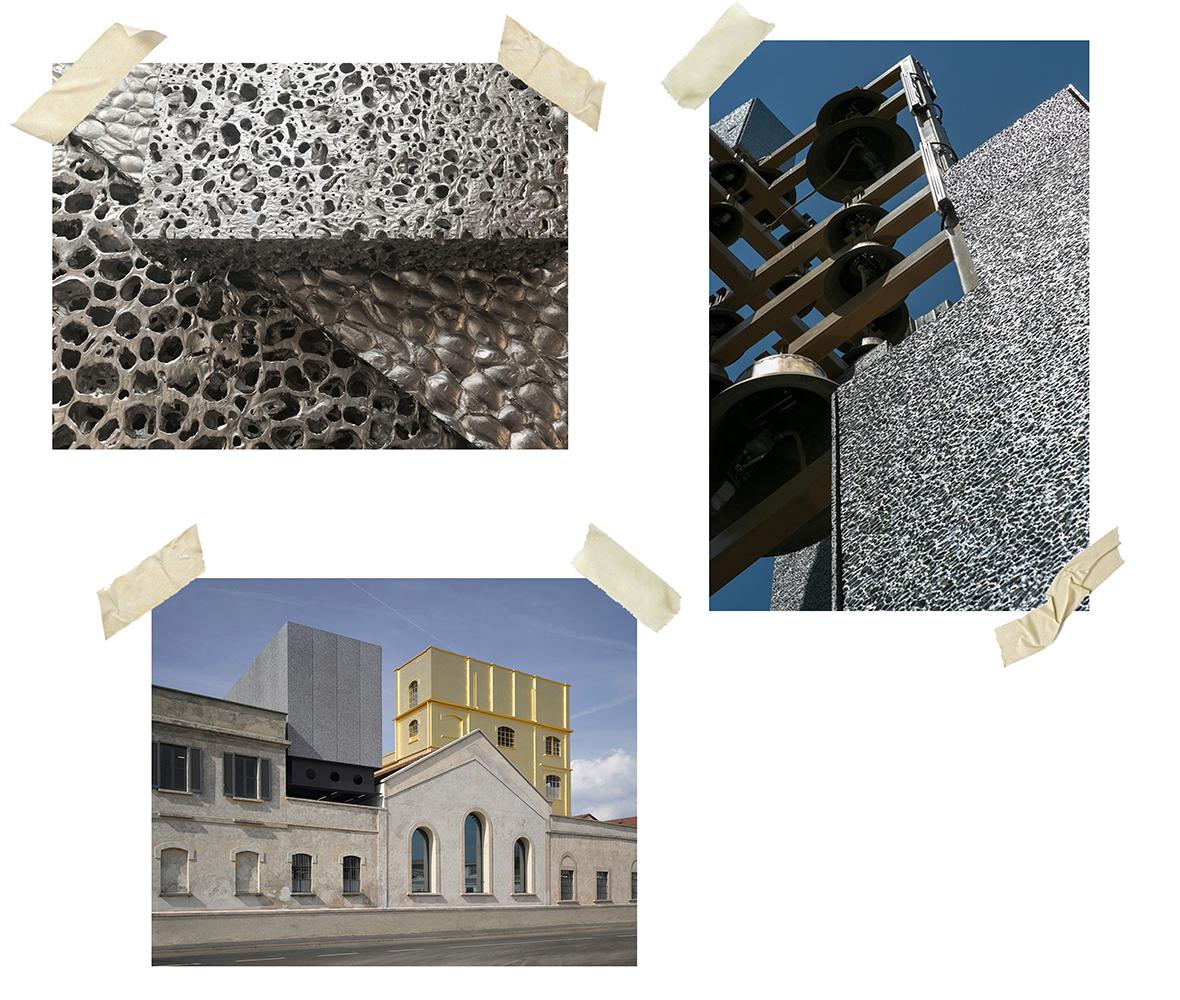 aliuminio putplastis architektūriniam projektavimui
