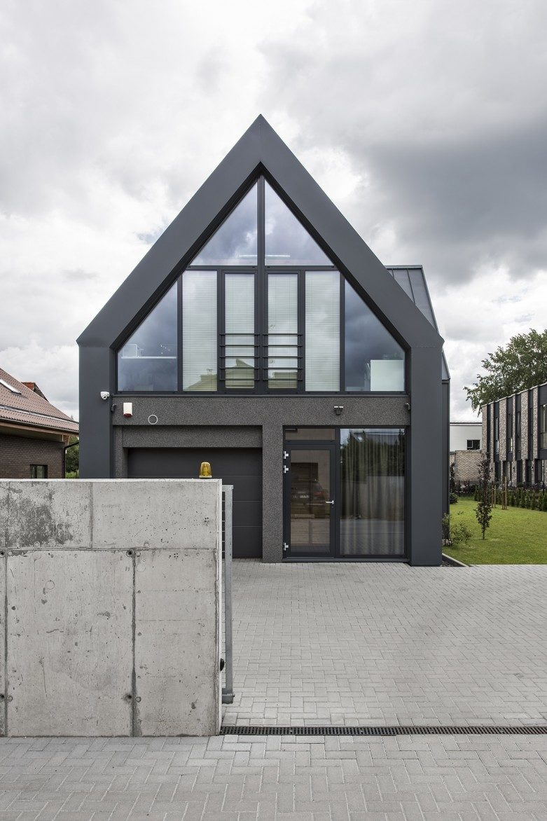 Private residential house project in Kaunas west side