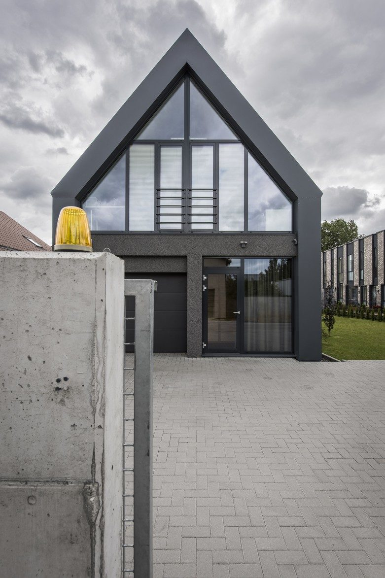 Private residential house project in Kaunas